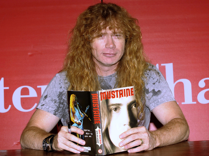 Dave Mustaine - A Bush supporter in 2004, the Megadeth frontman is not fond of the current president. As well as suggesting recent shootings in the US were part of an Obama administration conspiracy, last year he called Obama 